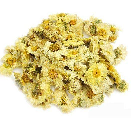 Fleurs de chrysanthème blanches