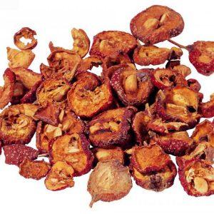 La cenelle : fruit de l'aubépine
