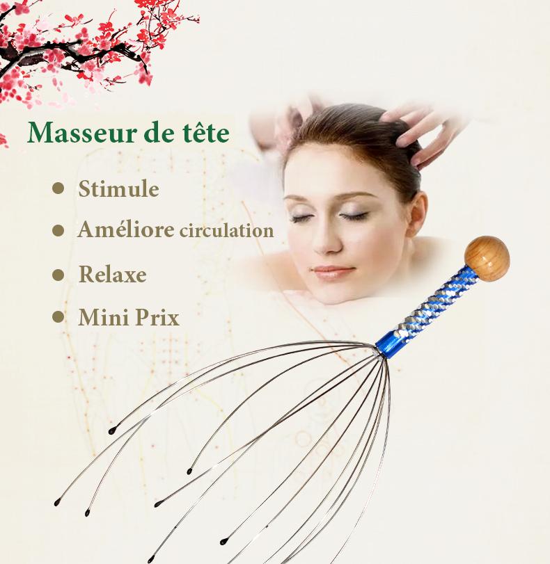 Ce que fait le masseur de tête