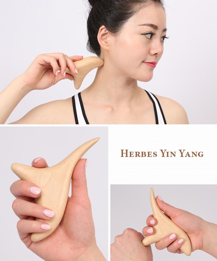 Poinçon sur cou et main