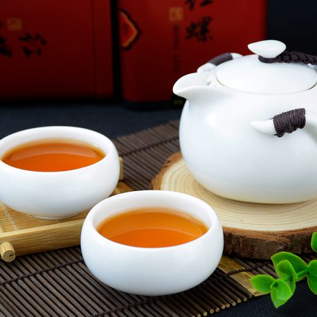 Infusion du thé Hong Luo